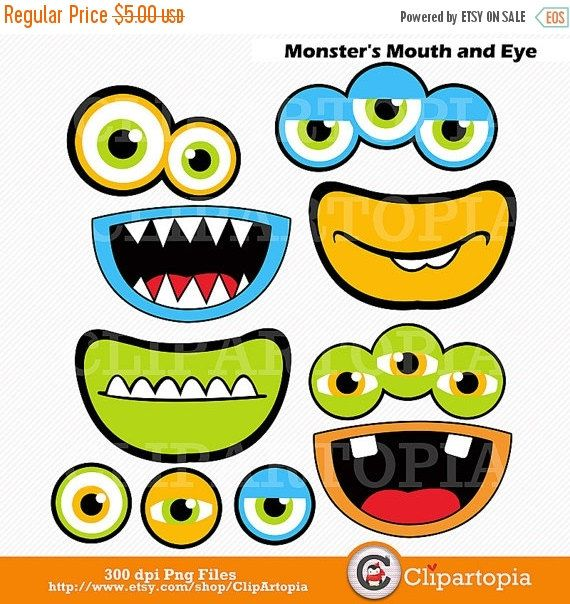 Monster clipart big mouth #8