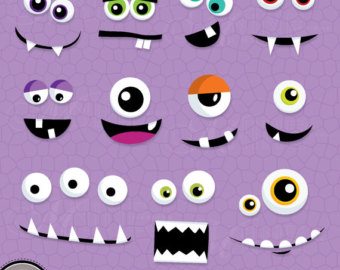 Pink Eyes clipart monster birthday #2