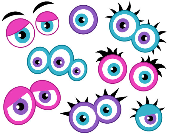 Pink Eyes clipart monster creature #10