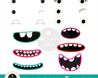 Monster clipart lip #7