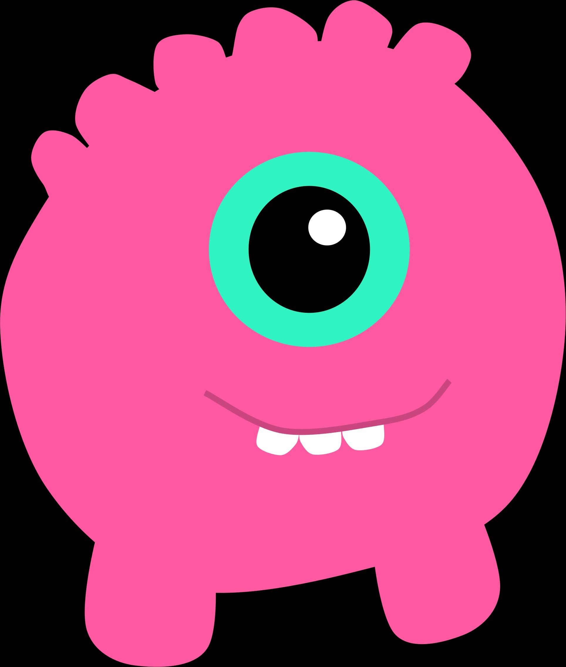 Pink Eyes clipart monster head 2 Monster Monster/Birmingham Monster/Tall