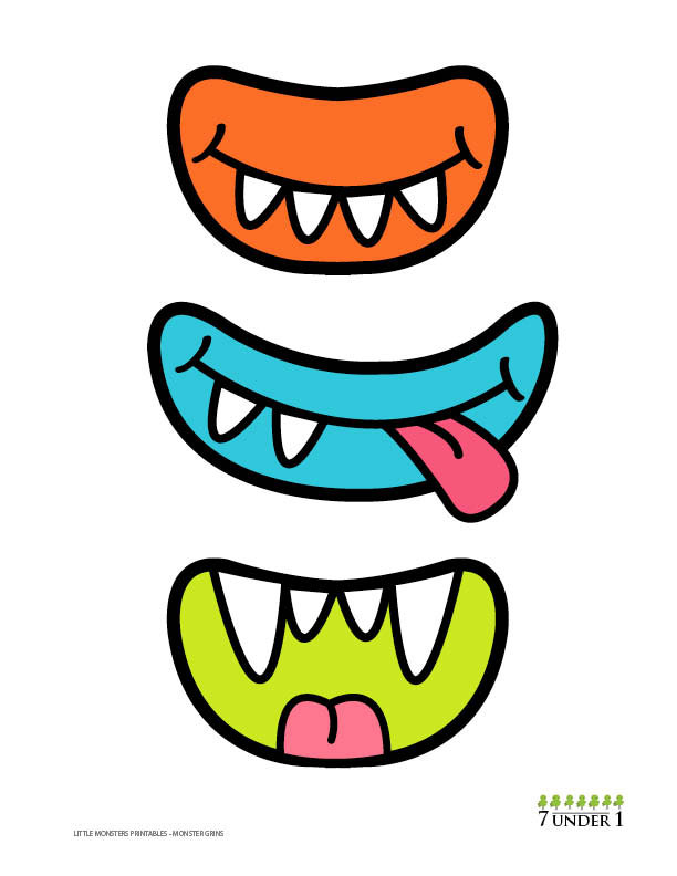 Pink Eyes clipart monster head AND Decorations 00 grins Monster