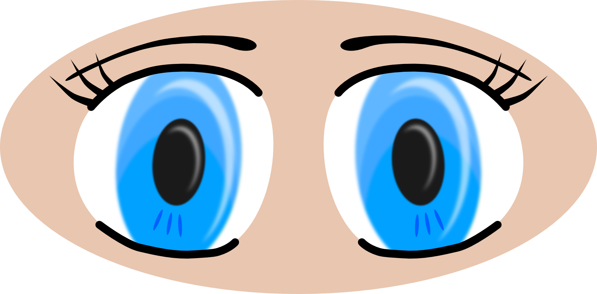 Blue Eyes clipart clipart transparent Clipart Download Blue drawings Blue