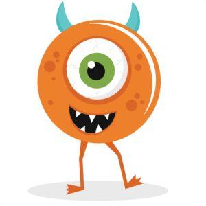 Pink Eyes clipart orange alien Svg images about free for