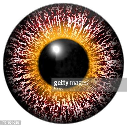 Pink Eyes clipart orange alien Of Yellow Ring Bloody yellow