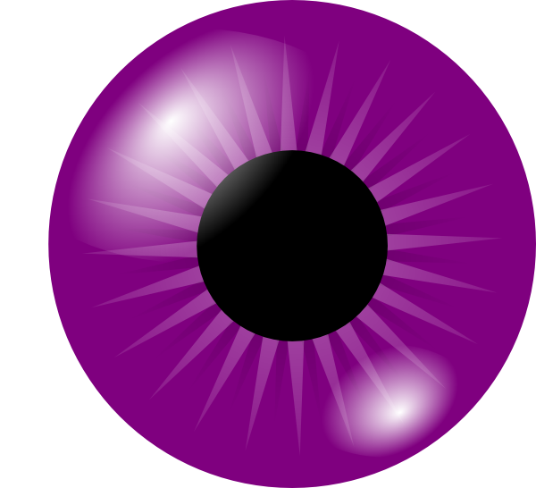 Pink Eyes clipart purple alien Eye Clip royalty com image