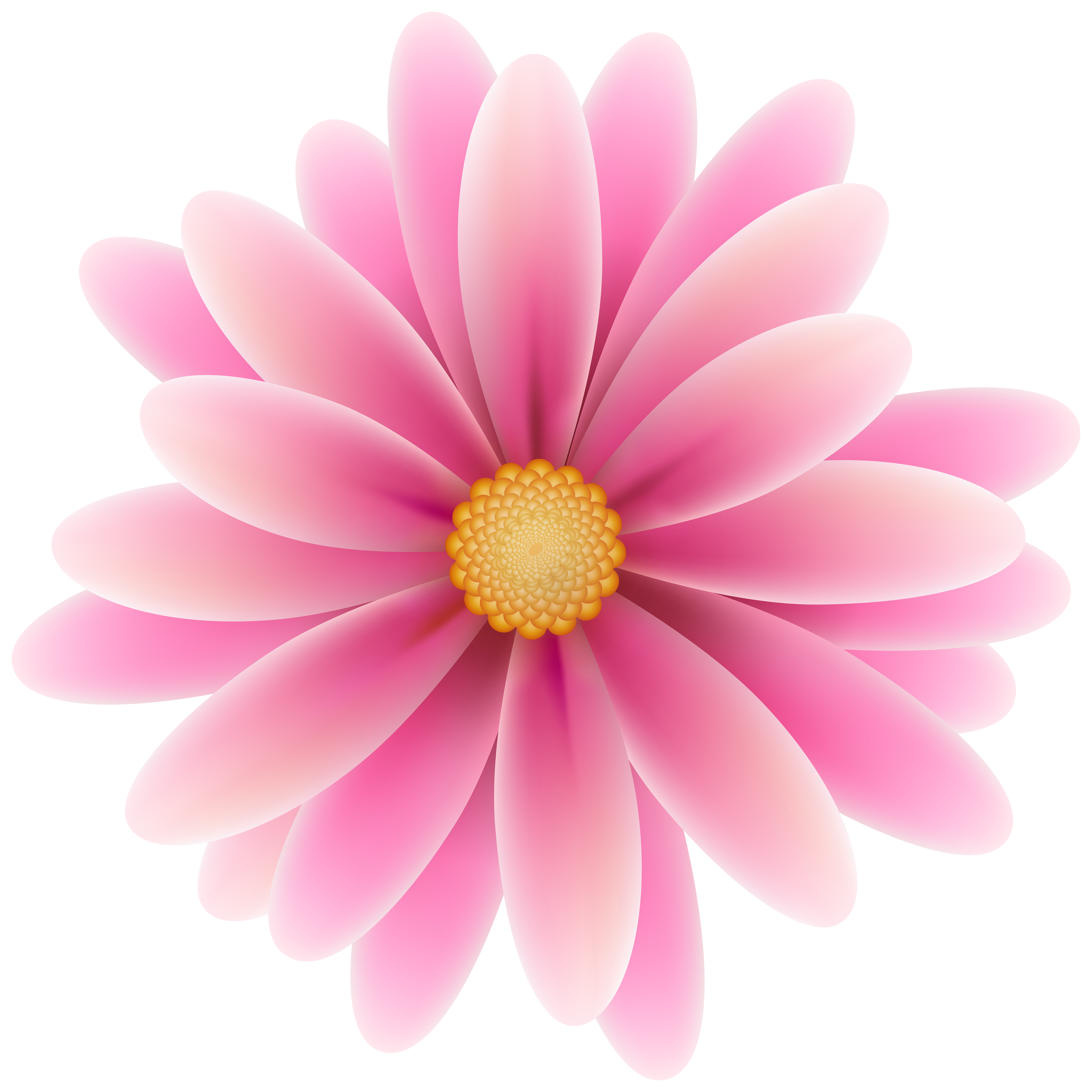 Pink Flower clipart Yopriceville Quality Art Flower Clip