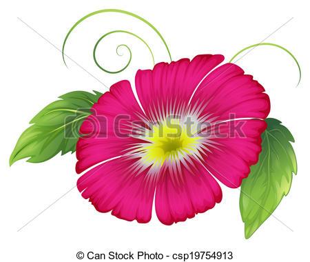 Petal clipart big flower Big pink carnation Vector carnation