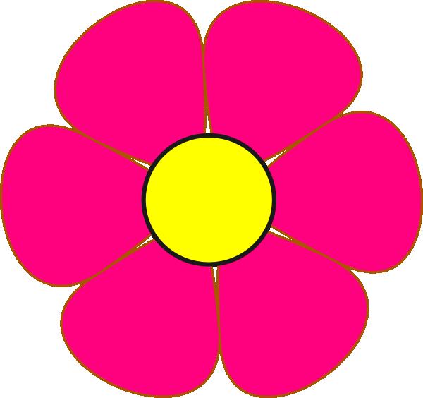 Yellow Flower clipart fuschia flower Art art clip as: com