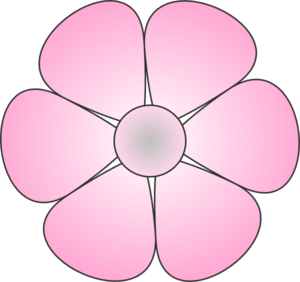 Pink clipart daisy flower Vector royalty Daisy  Clip