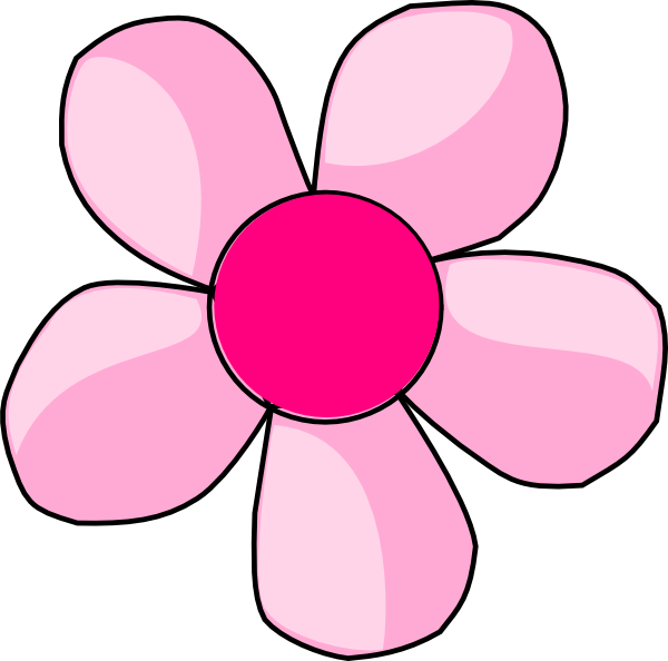 Pink clipart daisy flower Vector royalty this  image