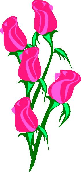 Bouquet clipart pink flower Panda flower%20bouquet%20outline%20clipart Flower Images Clipart