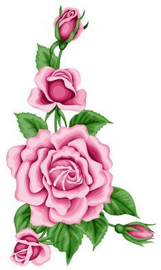 Pink Rose clipart rose bush Clipart · Best Clipart PNG