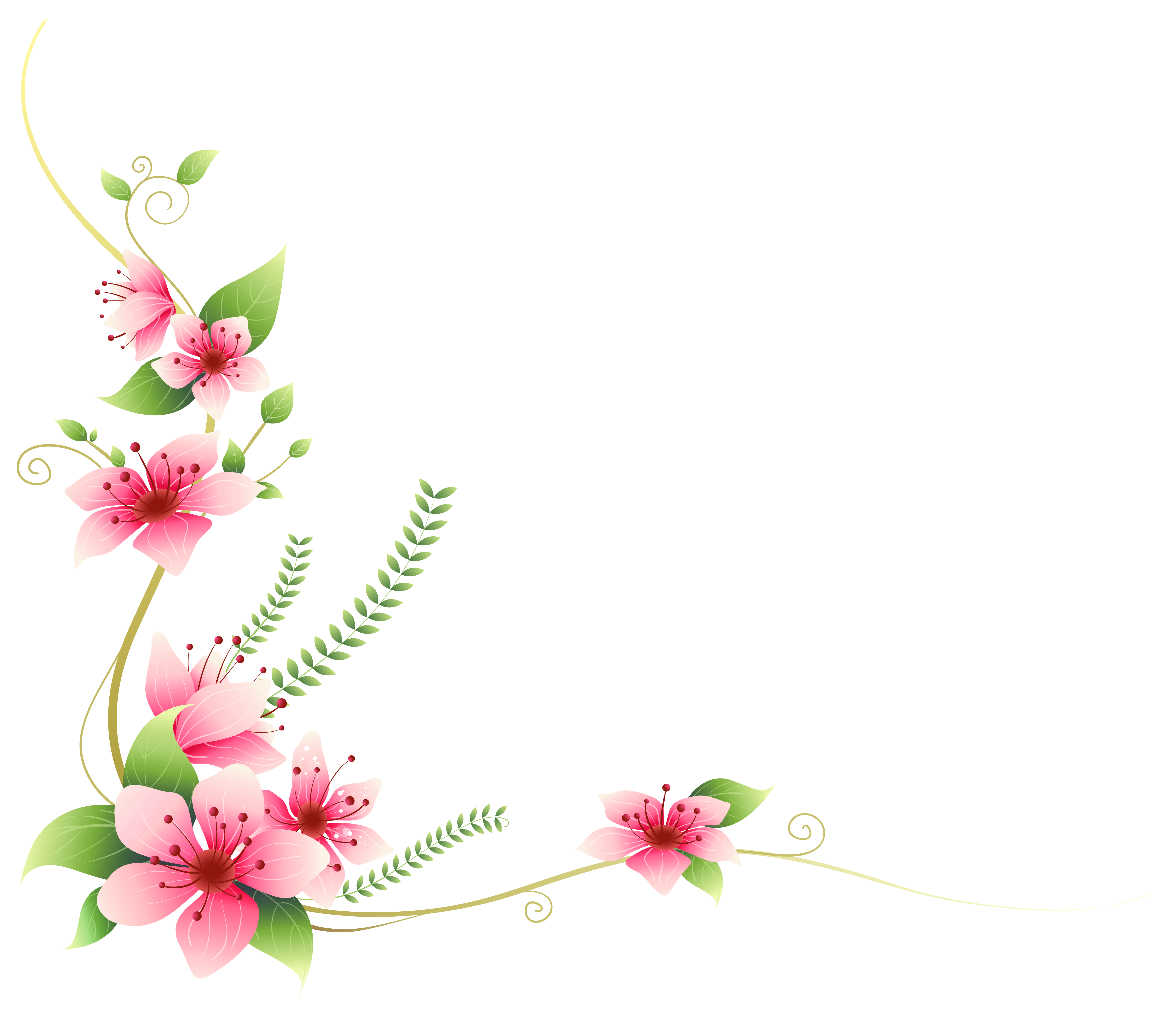 Gallery clipart decoration Full Decoration Clip Flowers Yopriceville