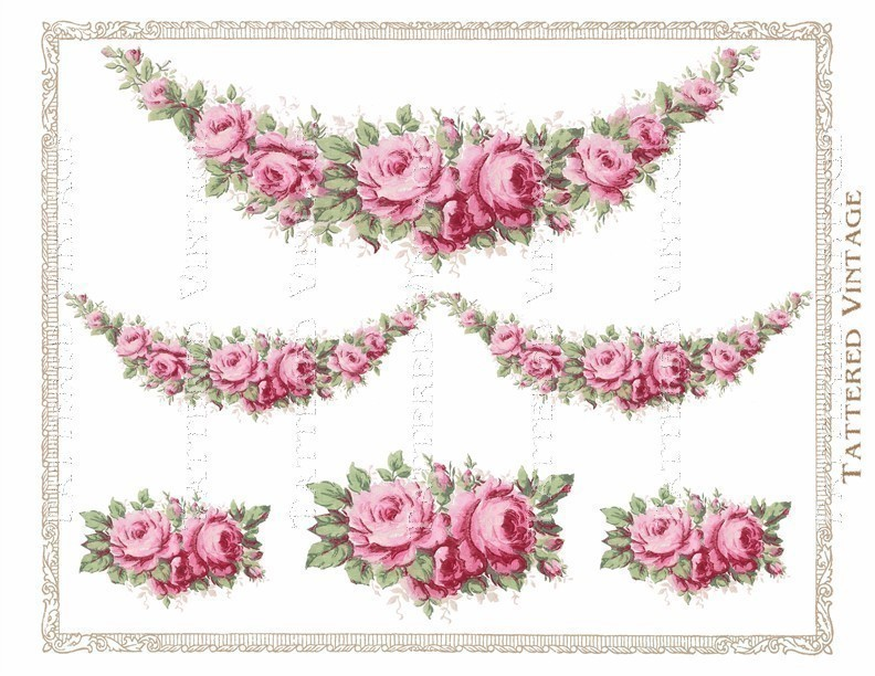 Pink Flower clipart flower garland PNG of of Wallpaper Download