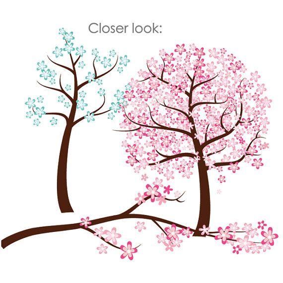 Pink Flower clipart flowering tree Cute Flowers best clipart room