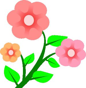 Pink Flower clipart for kid Pinterest Baby's about best Room