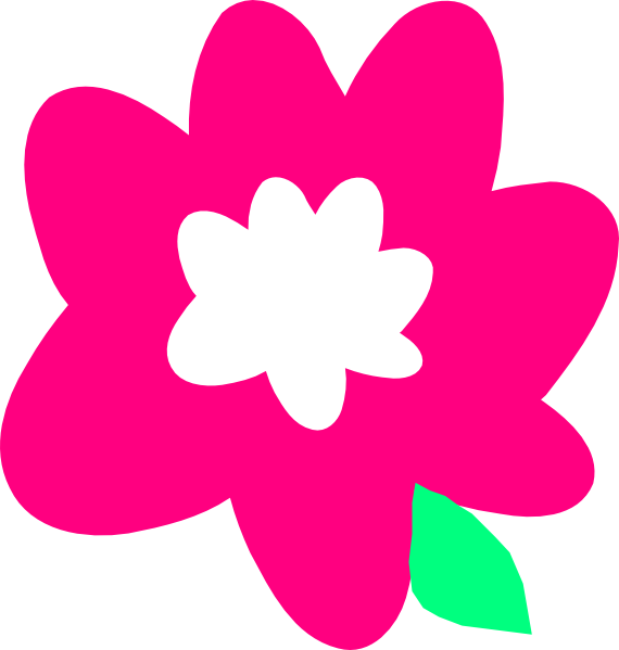 Pink Flower clipart for kid Flower online Art art Download