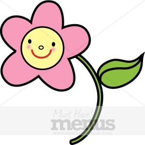 Pink Flower clipart for kid Flower pink Clipart Pink Kids