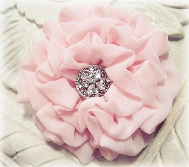 Pink Flower clipart light pink rose Brooch Wedding Bridesmaid Flower Clip