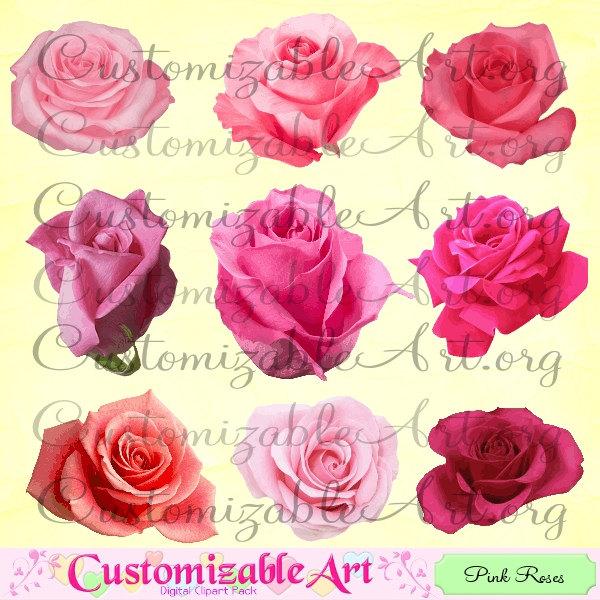Pink Flower clipart light pink rose Clipart Pink Light Clipart Pink