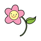 Pink Flower clipart little flower Little Flower Clip Art Flower