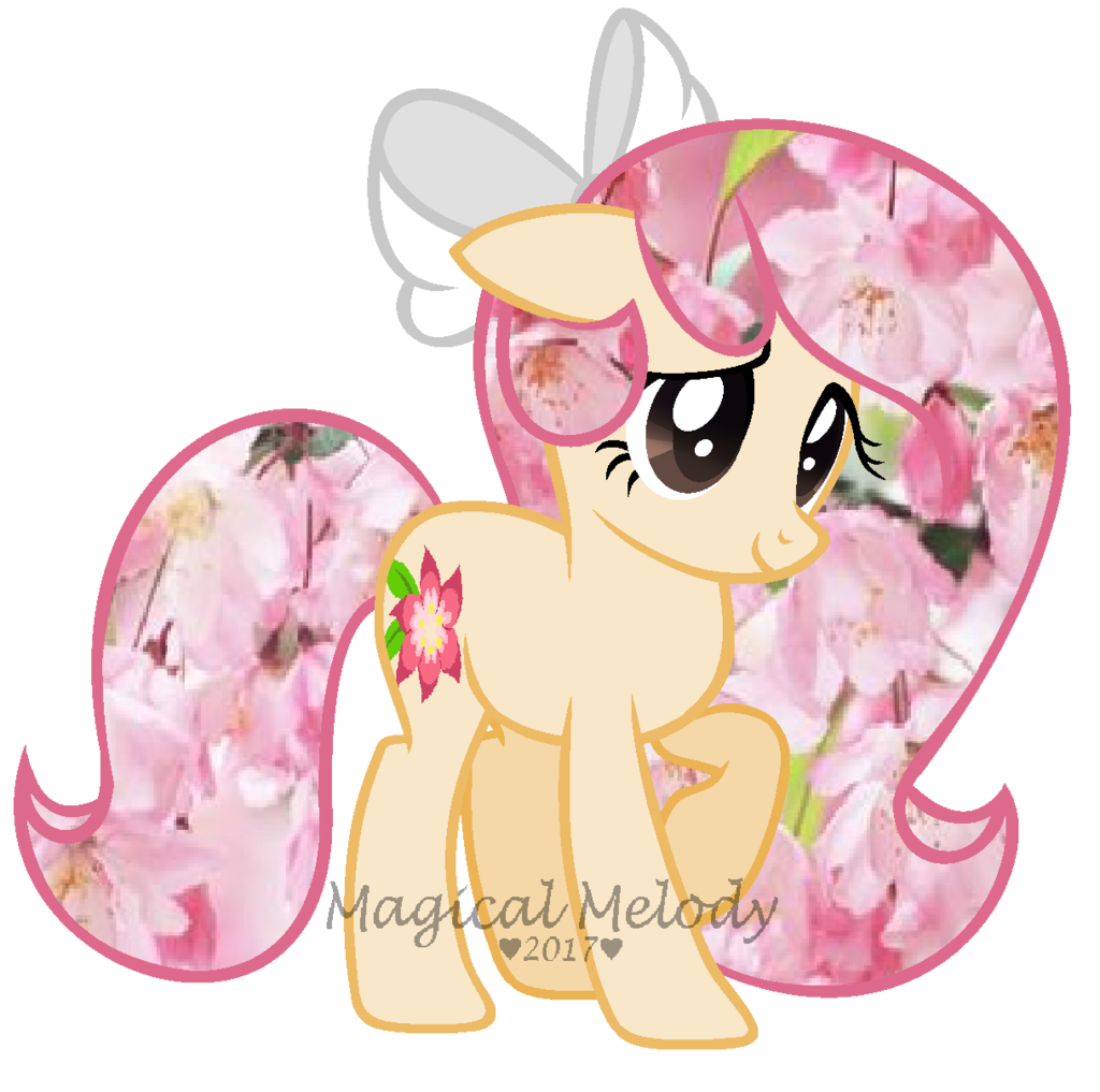 Pink Flower clipart mlp Trade Art on Shy Mlp