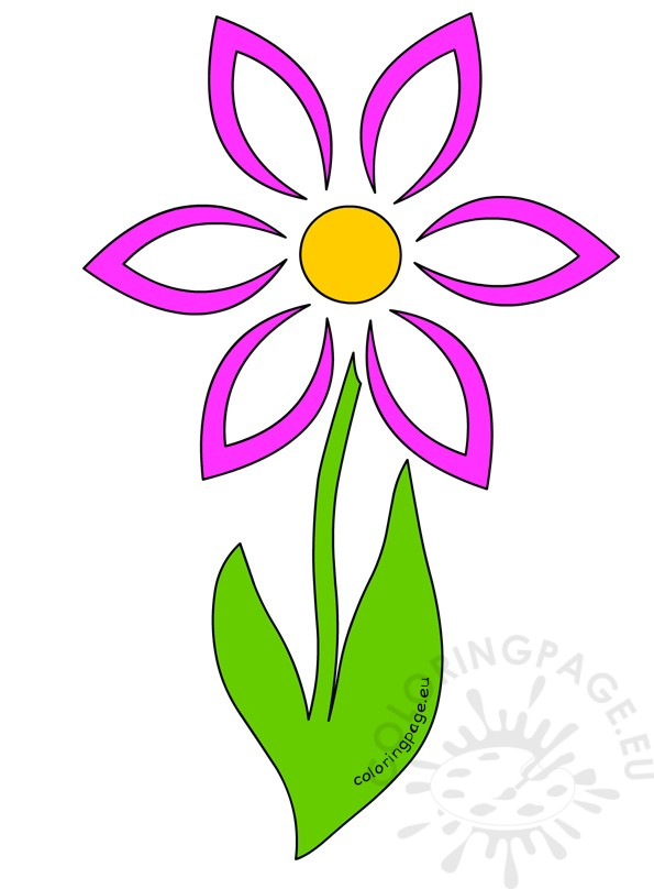 Pink Flower clipart mother's day Mother's Share: Happy Coloring Day