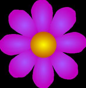Orange Flower clipart gambar Flower Clip vector at