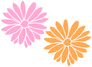 Orange Flower clipart art Com  Flowers Orange And