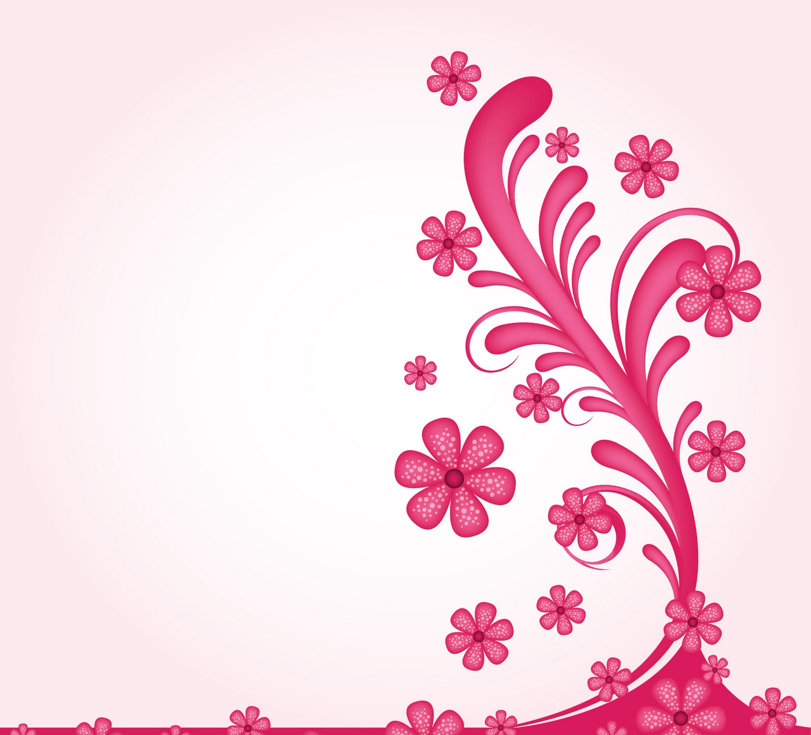 Decoration clipart powerpoint Power Floral & Pink 4