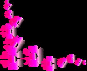 Pink Flower clipart pink colour Clker at online Pink Pink