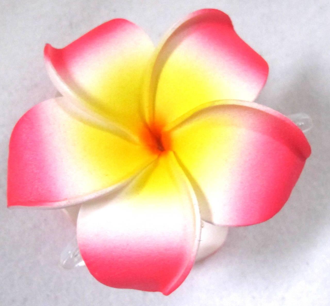 Pink Flower clipart plumeria Hair Claw Claw Plumeria Clip