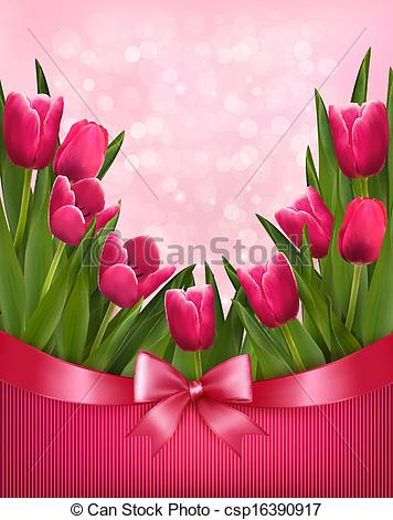 Bouquet clipart pink flower Holiday Vector pink flowers Clip