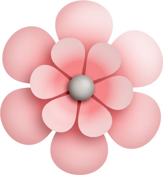 Pink Flower clipart springtime On Pinterest about ●••°‿✿⁀Flowers‿✿⁀°••● images