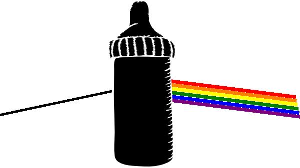 Pink Floyd clipart Clip com Bottle Art Baby