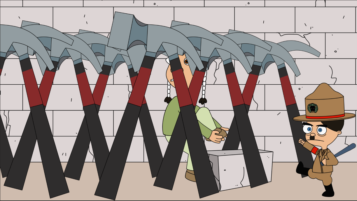 Pink Floyd clipart crossed hammers Sequence hammers blog: This homage/spoof