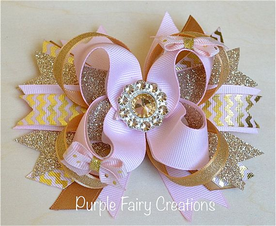 Pink Hair clipart baby bow #11