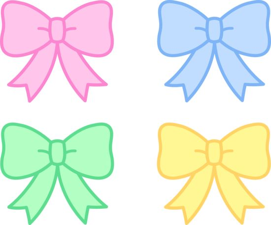 Pink Hair clipart baby bow #12