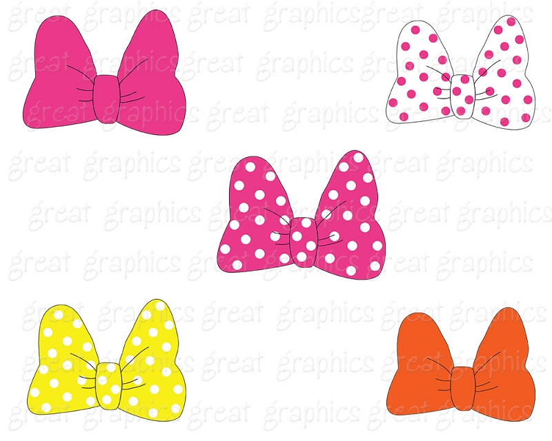 Pink Hair clipart baby bow #9