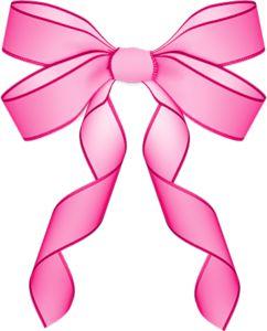 Pink Hair clipart girly bow Papillon 556 on best Pinterest