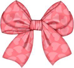 Pink Hair clipart girly bow · Free Web ArtBallonsMaria Pink