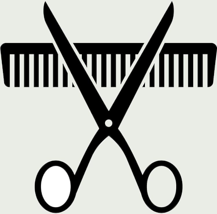 Pink Hair clipart hair scissors Gallery Scissors Comb Scissors Comb