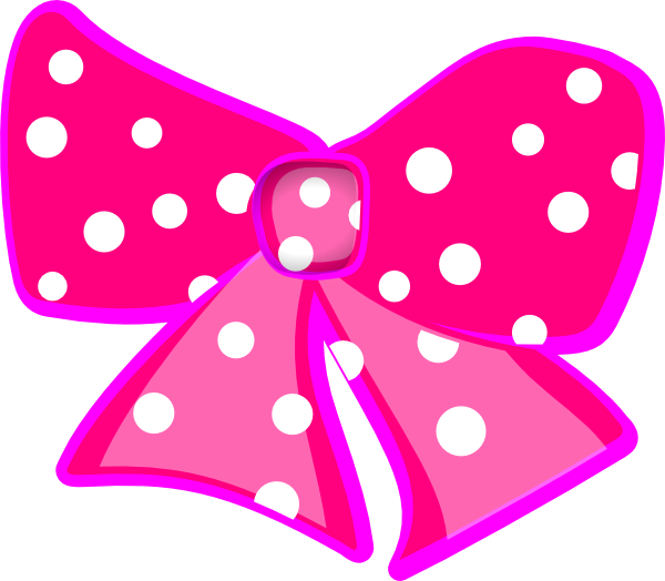 Ribbon clipart minnie mouse #6