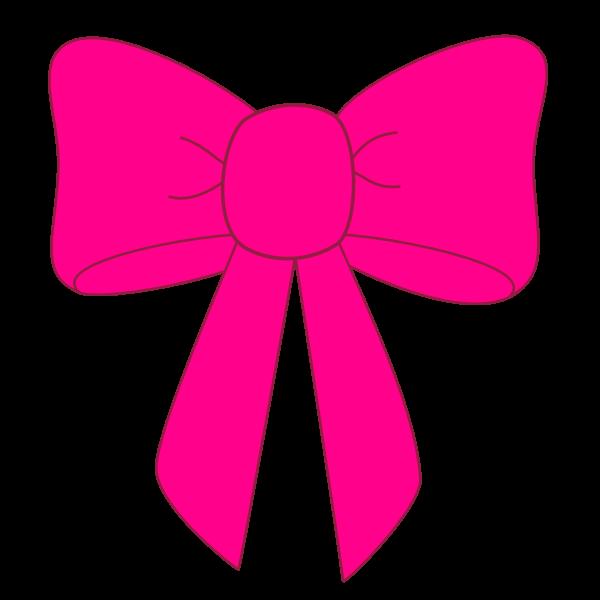 Tie clipart black bow ribbon Fuchsia art 2 co clipart