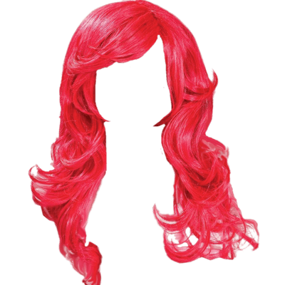 Red Hair clipart wig #7