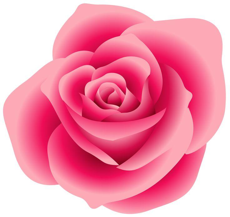 Pink Rose clipart Blumen rose pink pink pink