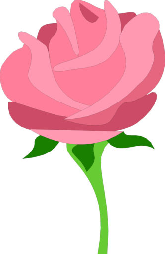 Pink Rose clipart animated Clipart Rose Rose Clipart Animation