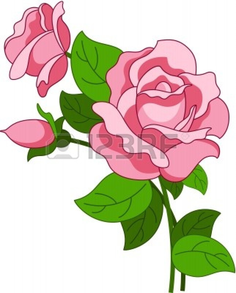 Pink Rose clipart animated Pink Download Art Clip Clip