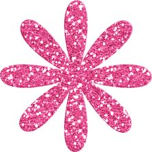 Pink Rose clipart glitter CLIPART on 462 FLOWER Pink